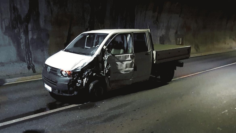 Verkehrsunfall Felbertauerntunnel